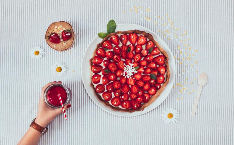Tarte aux fraises-1