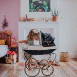 Morning petitemaman mygirl love instakid kidsroom photooftheday picoftheday homesweethome bluponyvintage