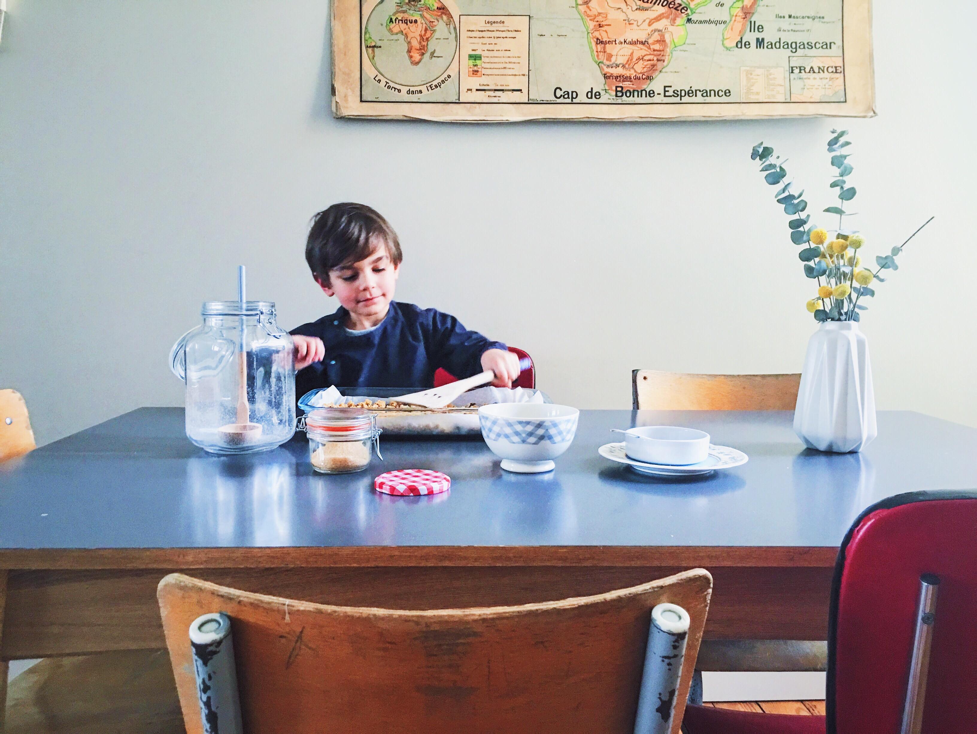 notre salle manger avant apr s c line au d tour d 39 un. Black Bedroom Furniture Sets. Home Design Ideas